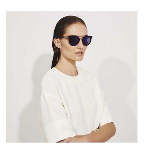 Henri Bender Broadway Aviator Style Sunglasses
